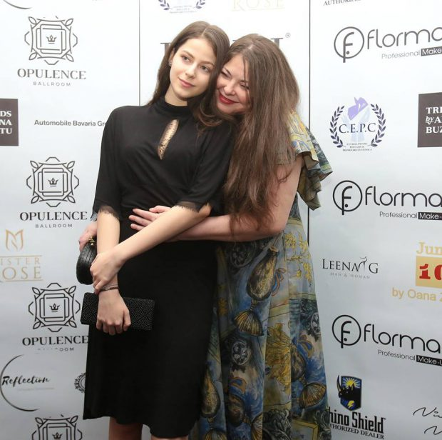 Rita Muresan, alături de fiica ei, Gloria