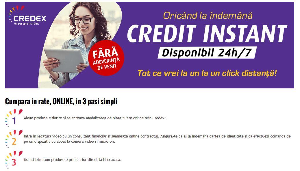 De la creditul cu buletinul la creditul online. Altex lansează o platformă digitală prin care românii pot face împrumuturi pentru electronice și electrocasnice din fața calculatorului