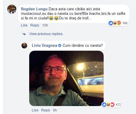 Dragnea a câștigat pariul cu un internaut, o navetă de bere; Liderul PSD a promis că aduce el micii, luni, la sediul PSD