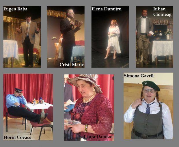 Membrii trupei Inocent Theatre sunt nevăzători, sau cu grave deficienţe de vedere, însă aproape niciodată spectatorii nu îşi dau seama de deficienţa acestora