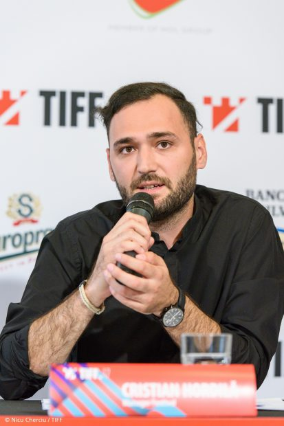 Cristian Hordila la Conferinta de presa TIFF - 08.05.2018 - Foto Nicu Cherciu