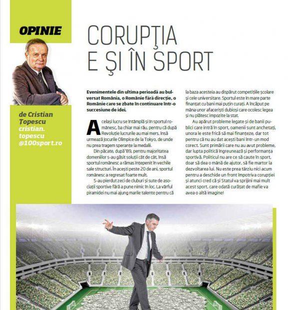 Ultimul editorial al lui Cristian Țopescu