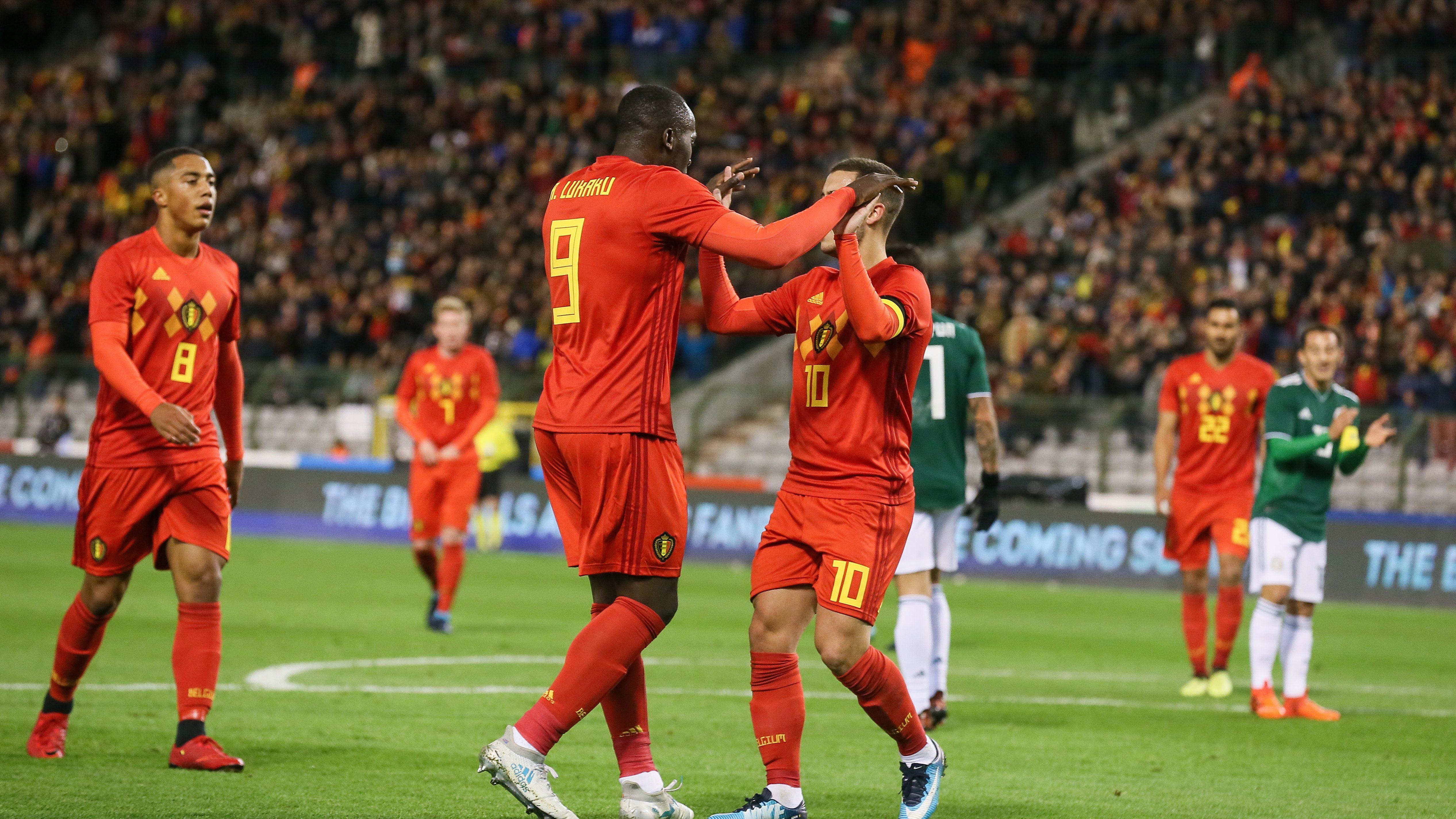 Lotul Belgiei Campionatul Mondial Fotbal Rusia Sport Libertatea Ro