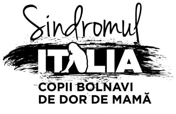 Logo campanie Sindromul Italia. Copii bolnavi de dor de mamă