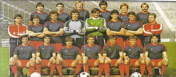 Marin Radu II (al treilea de la dreapta la stânga, pe rândul de jos) a jucat opt minute în finala de la Sevilla
