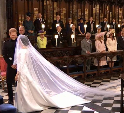Rochia de mireasă pe care a purtat-o Meghan la nunta cu prințul Harry