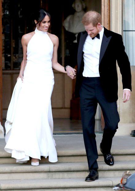 FOTO | Inelul purtat de Meghan Markle la recepția de după nuntă i-a aparținut prințesei Diana