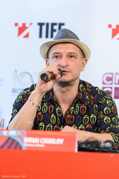 Mihai Chirilov la Conferinta de presa TIFF - 08.05.2018 - Foto Nicu Cherciu
