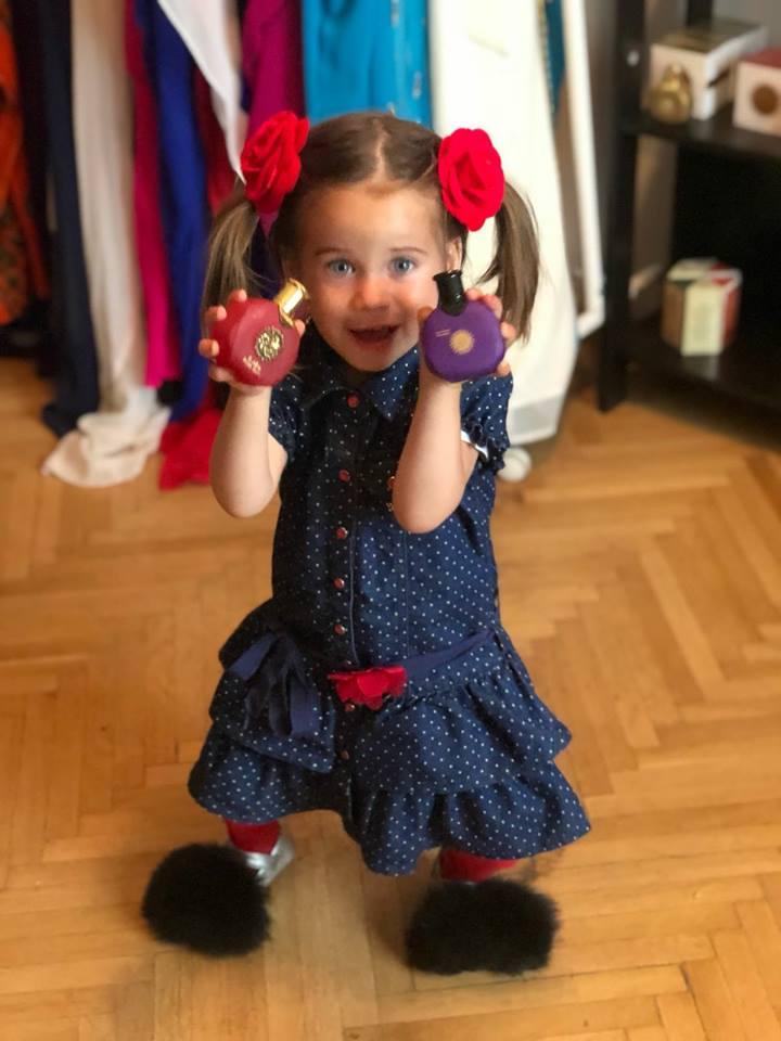 """Cum vrea Sânziana Buruiană să își crească fetița. """"Fata mea o să știe de mică"""""""