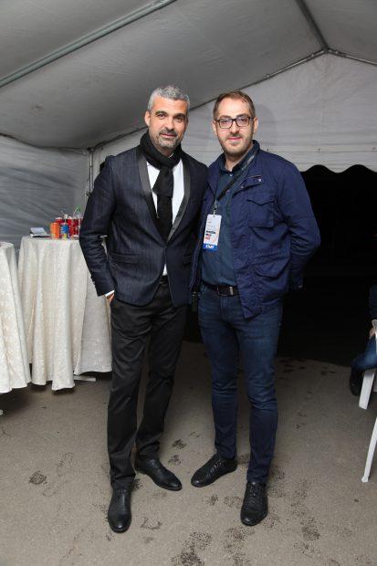 Aurel Temișan (s) și regizorul Bogdan Alexe