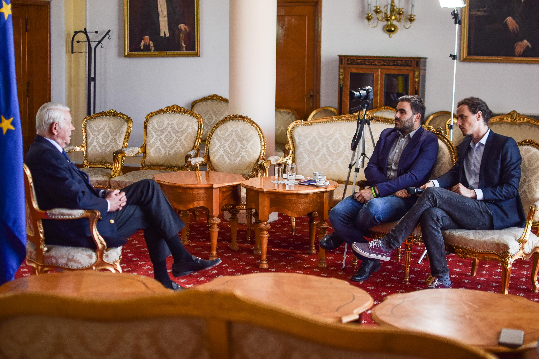 INTERVIU VIDEO / Teodor Meleşcanu: Poziţia României în UE nu va fi afectată de scandalul privind mutarea ambasadei la Ierusalim