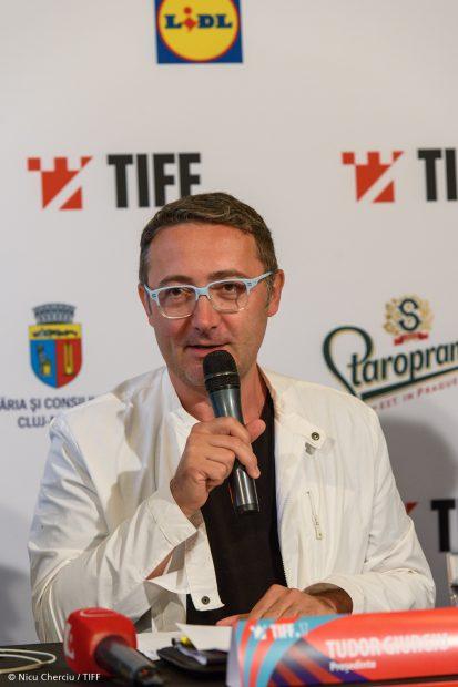 Tudor Giurgiu la Conferinta de presa TIFF - 08.05.2018 -Foto Nicu Cherciu -