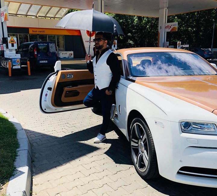 EXCLUSIV/Fitză de manelist. Tzanka Uraganul merge la cântări cu un Rolls Royce Wraith care consumă 22 de litri/la suta de kilometri