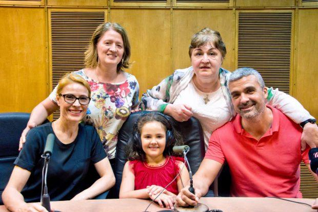 EXCLUSIV/ Aurelian Temișan și Monica Davidescu, dezvăluiri din familie. Dora, fetița lor, le calcă pe urme!