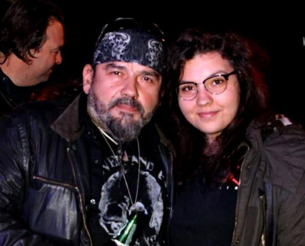 Adrian Igrișan si fiica sa, Dora