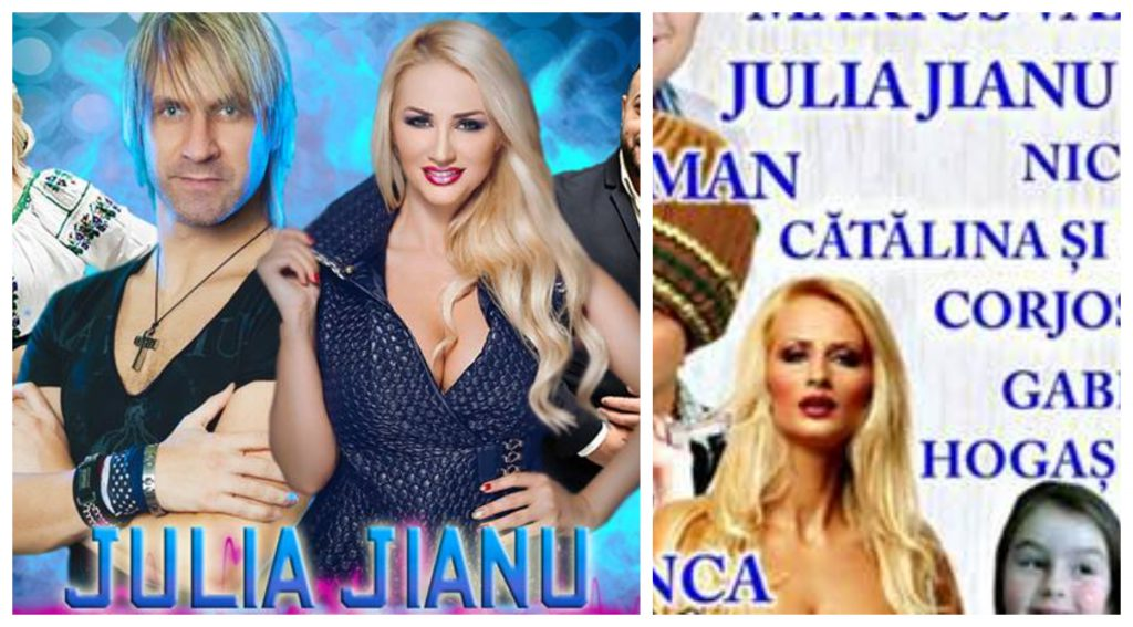 EXCLUSIV/ Cântăreața Julia Jianu folosește în continuare numele fostului soț, dar vrea să se reinventeze. Cum își va spune