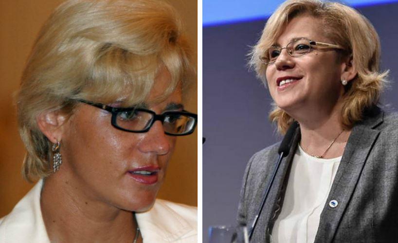 Atunci și acum / Corina Crețu, apropiata lui Ion Iliescu, ajunsă Comisar European și văzută ca viitor premier al României
