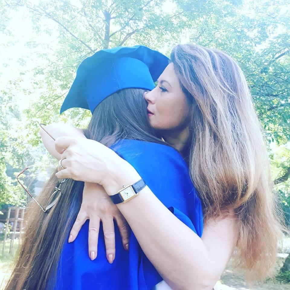 Fiica Corinei Dănilă a terminat școala. Cât de emoționată a fost vedeta