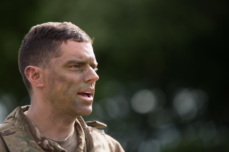 Mike Podojil unul dintre ofițerii Regimentului 2 Cavalerie