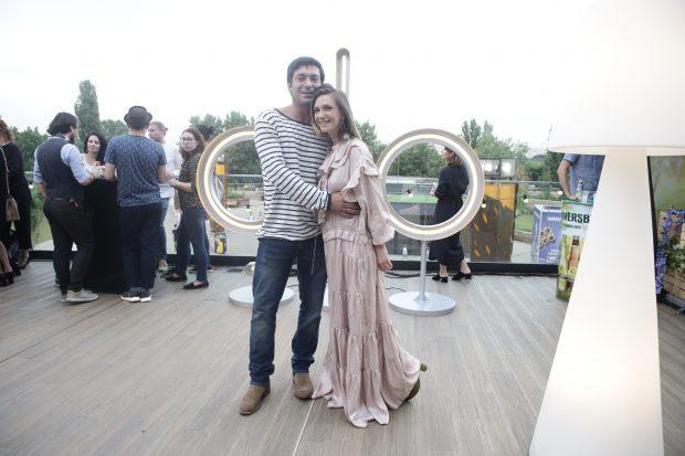 Adela Popescu și Radu Vâlcan nu urmăresc împreună meciurile