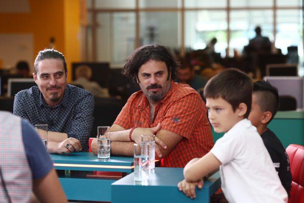 Liviu Mărghidan şi Vasile Calofir au povestit cum a apărut ideea realizării unui film pentru copii şi care au fost cele mai dificile momente din timpul filmărilor