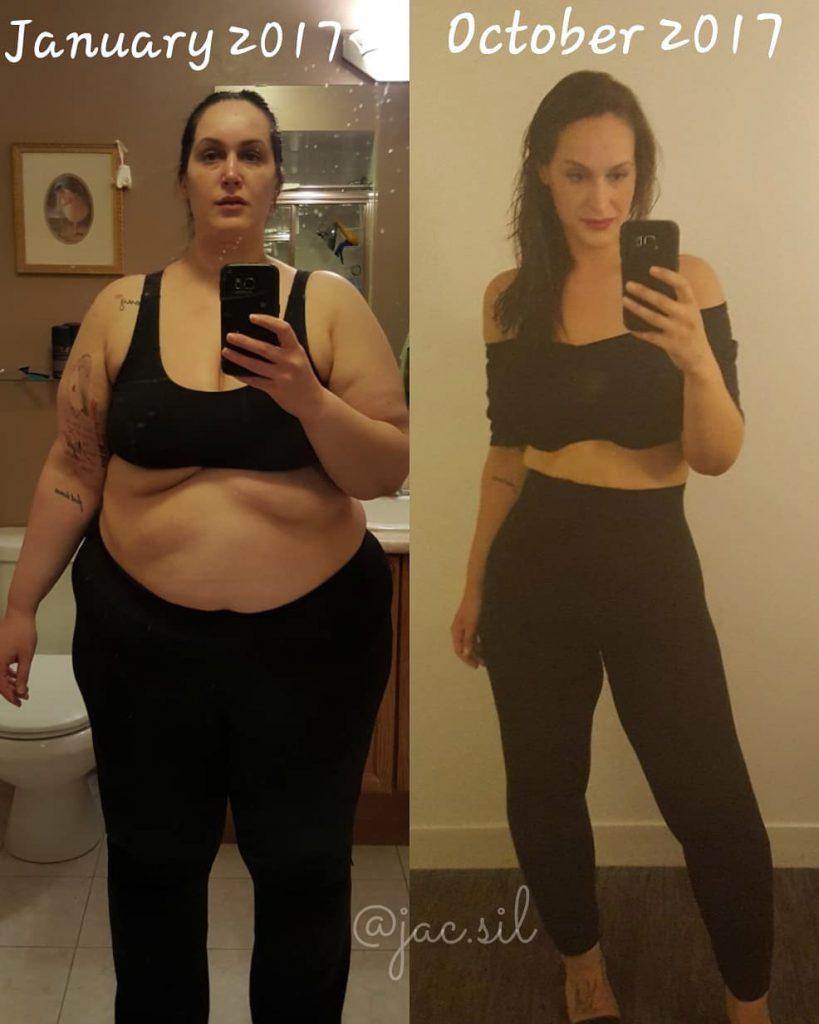 Scădere în greutate de la 75 kg la 60 kg