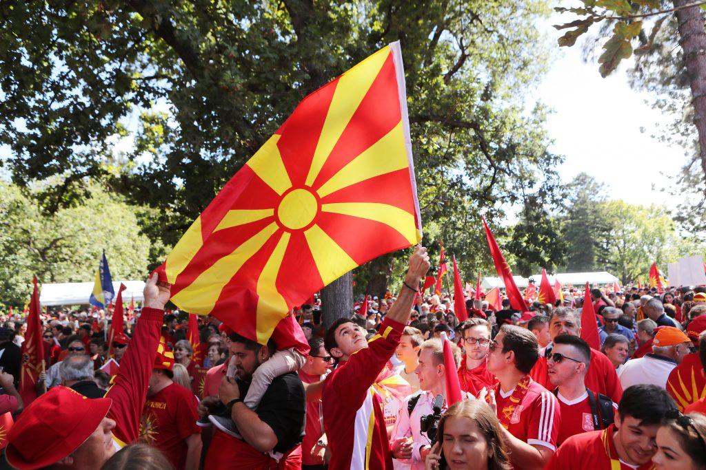 Proteste în Skopje și Atena după semnarea acordului privind noul nume al Macedoniei