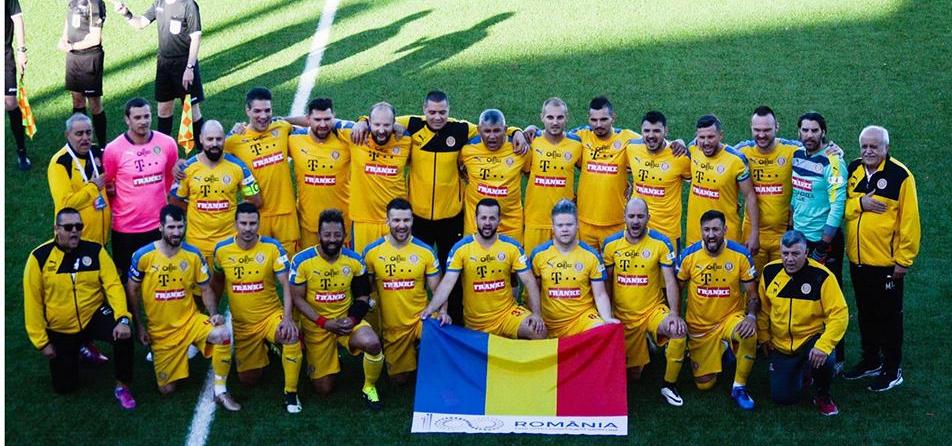 Naționala artiștilor fotbaliști a ajuns în finala Campionatului Mondial de la Moscova