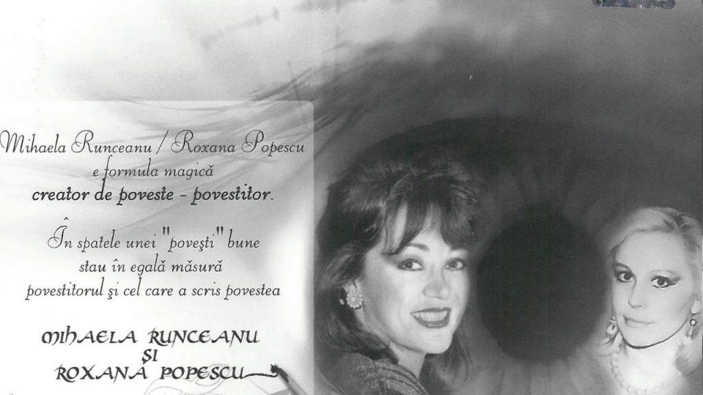 Solista și textiera Roxana Popescu a murit. A fost cea mai bună prietenă a Mihaelei Runceanu
