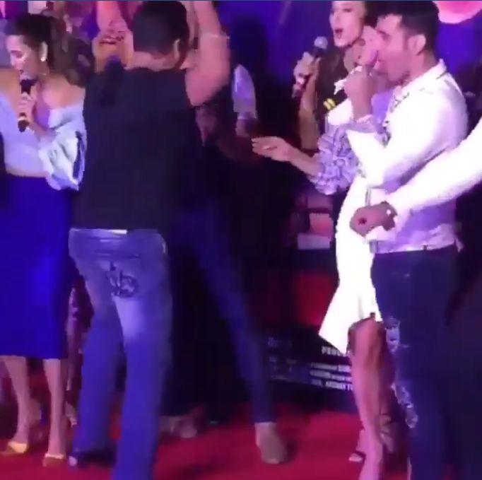 Salman Khan a sorbit-o din priviri pe Iulia Vântur la un eveniment. Nici vorbă de despărțire | VIDEO