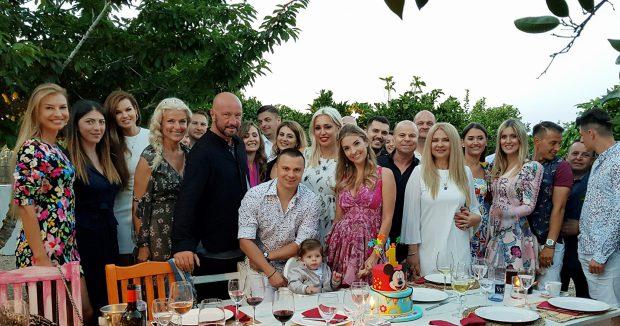 Raluca și Walter Zenga, nași pe un yacht, în Ibiza