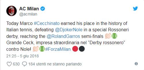 Marco Cecchinato, primul italian care ajunge în semifinalele unui turneu de Mare Șlem după 40 de ani. Ce spune Marius Copil, care era să-l bată în primul tur