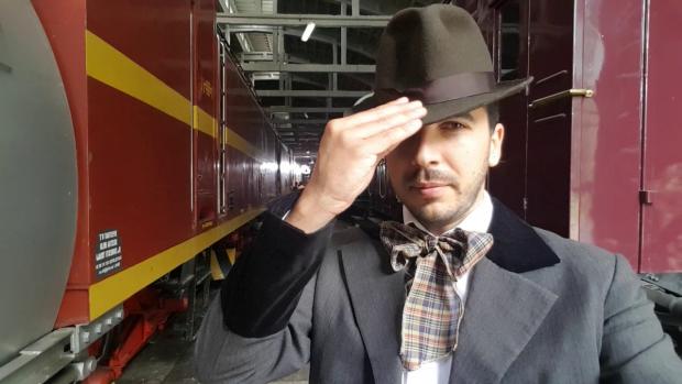Radu Ţuţulan, reporter Libertatea, a fost actor de film pentru o zi în docudrama