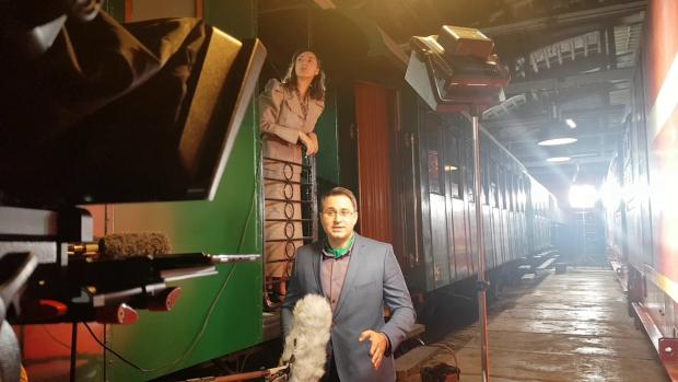 Jurnalistul TVR, Mihai Constantin, are rolul prezentatorului docudramei