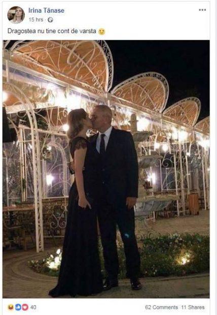 Irina și Liviu Dragnea (sursă foto Facebook)