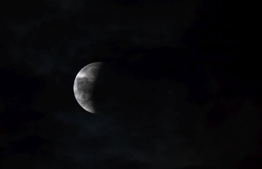 Eclipsa de Lună din 27 iulie 2018 (FOTO: Vlad Chirea)