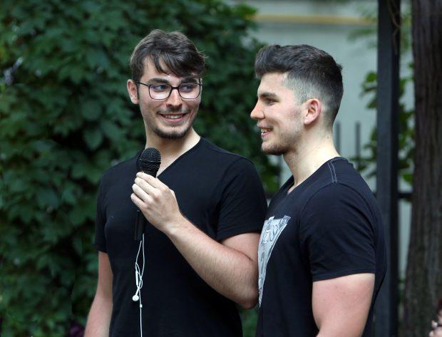 Cei doi băieți ai cuplului Simona și Alexandru Repan