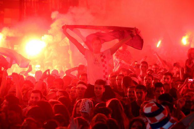 Croația fani Zagreb