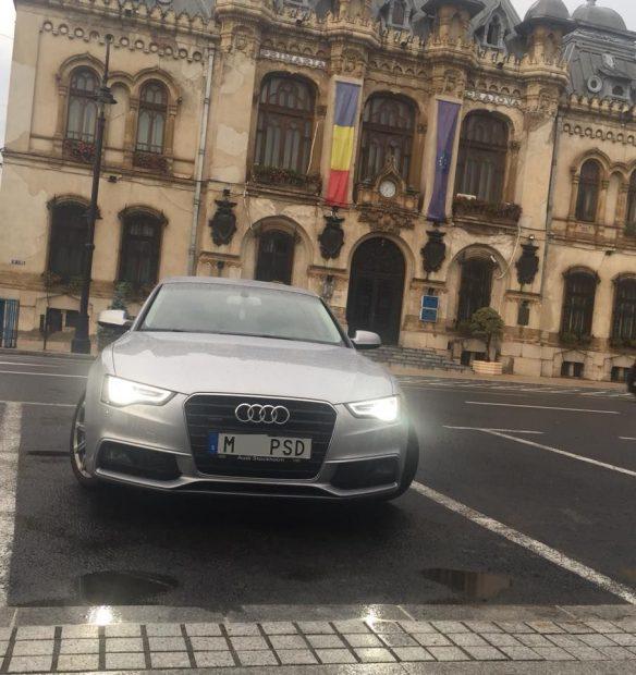 Cine e Răzvan Ștefănescu, șoferul mașinii cu numere anti-PSD. Românul a plătit 640 de euro pentru a obţine un număr personalizat