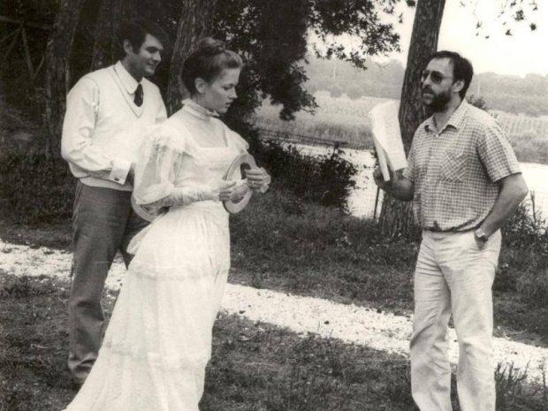 """Cu George Motoi și Mircea Veroiu la filmările pentru """"Adela'"""
