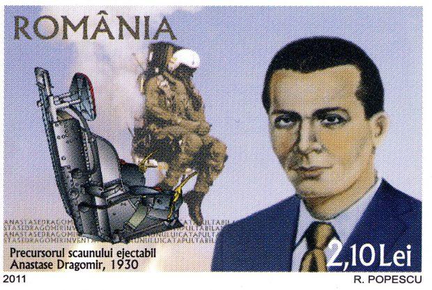 Contribuţia lui Anastase Dragomir la dezvoltarea industriei aeronautice a fost recunoscută în întreaga lume, iar românul este considerat, părintele scaunului ejectabil utilizat astăzi pe majoritatea avioanelor de luptă