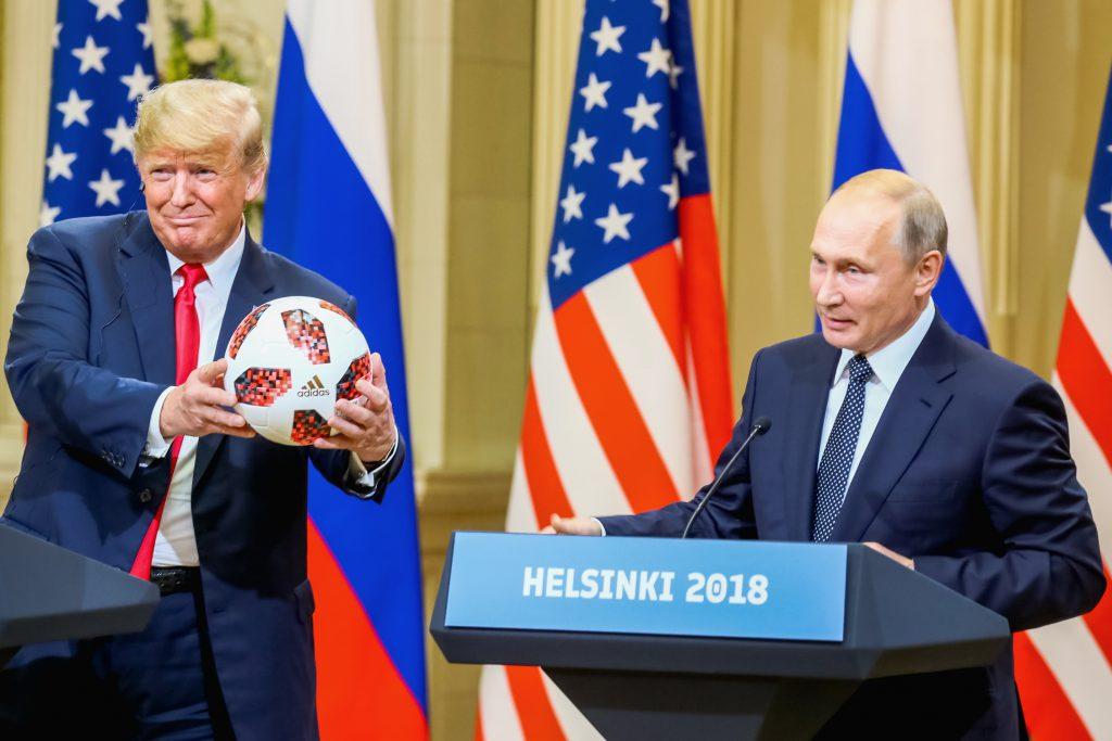 """VIDEO/ Summitul Trump-Putin la Helsinki. Putin: """"Am vrut ca Trump să câștige alegerile"""""""