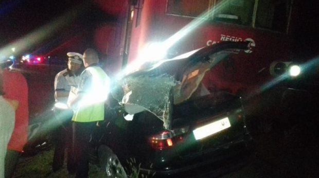 Accident feroviar grav în localitatea Vlădeni din Iași
