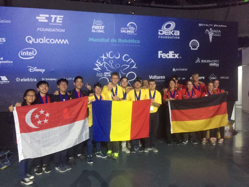 Performanta de exceptie a Romaniei la Olimpiada de Robotica First Global – Mexic 2018  - locul 1 si 5 medalii de aur