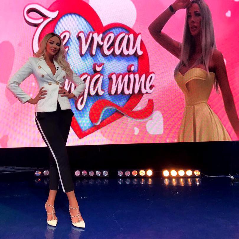 Bianca Drăgușanu se plânge că a rămas fără emisiune