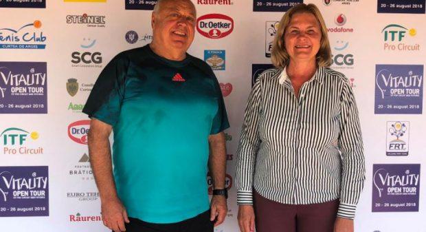 Italianul Claudio Fortuna a câștigat Vitality Open Tour. Perechea Vasile Antonescu/ Alexandru Jecan, câştigătoare la dublu