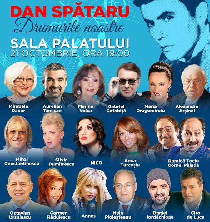 EXCLUSIV/ Văduva lui Dan Spătaru e co-producătoare a unui show în memoria artistului. De 14 ani se luptă pentru proiect!