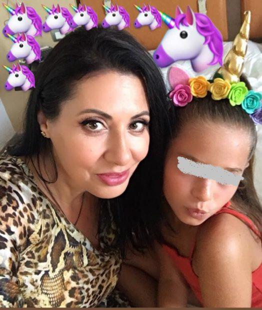 Antonia și mama ei au plecat în Italia încărcate de cadouri pentru Maya. Fetița cântăreței a împlinit 8 ani