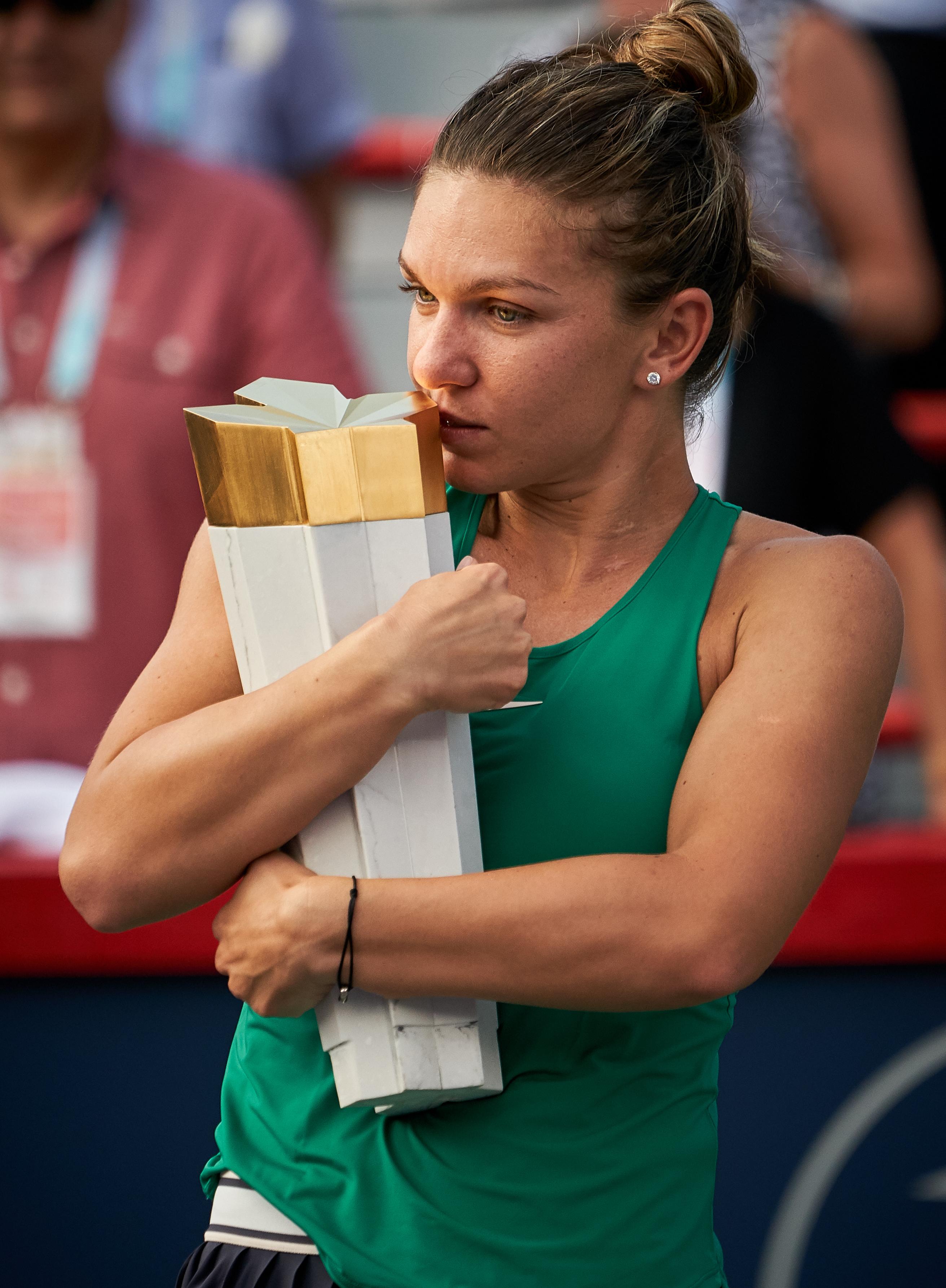 Așa arată palma dreaptă a Simonei Halep după câștigarea turneului de la Montreal