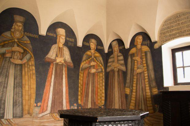Pictura Olgăi Greceanu, urmaşa Măldăreştilor